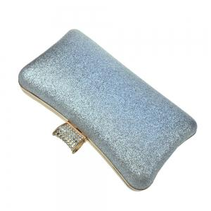 Women Bags leatherette Evening Bag Buttons Crystal Detailing Sequins for Wedding Event/Party -