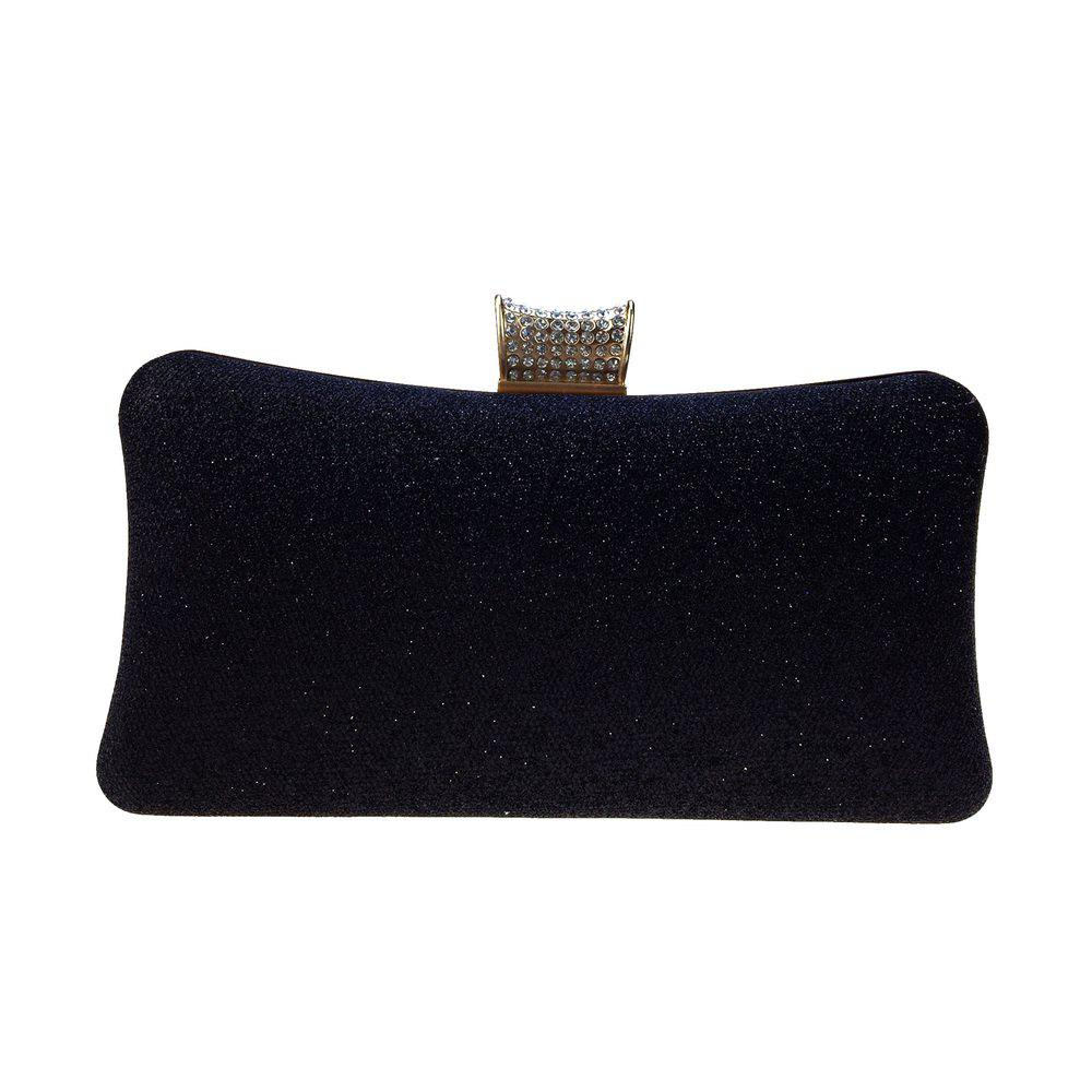 Shop Women Bags leatherette Evening Bag Buttons Crystal Detailing Sequins for Wedding Event/Party