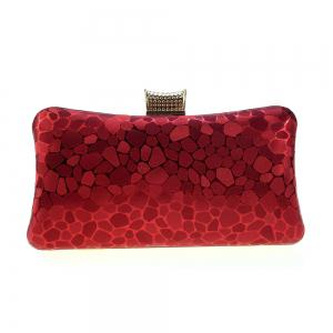 Women Bags leatherette Evening Bag Buttons Crystal Detailing for Wedding Event/Party -