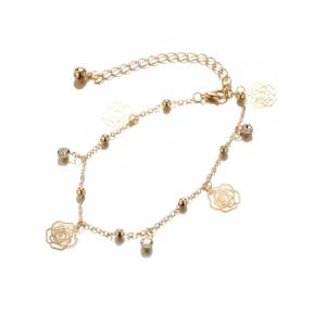 Ladies Fashion Vintage Alloy Anklets -