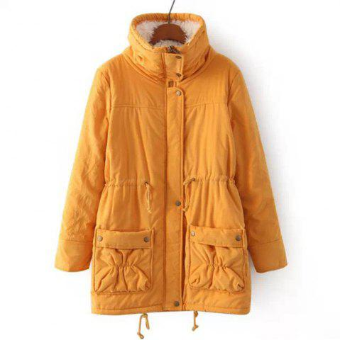 New Women Medium Long Cotton-Padded Clothes Plus Size Coat