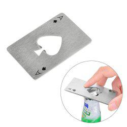 1PC Poker Shape Bottle Opener -