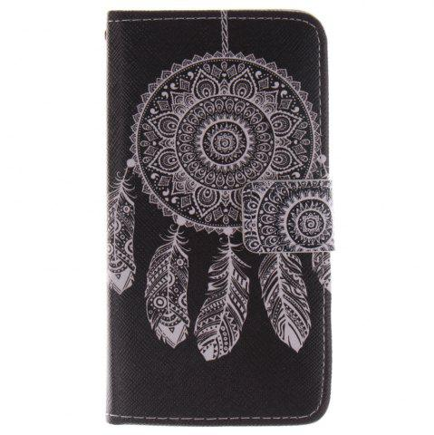 Discount Cover Case For LG G3 Mini Black Wind Chimes PU+TPU Leather with Stand and Card Slots Magnetic Closure