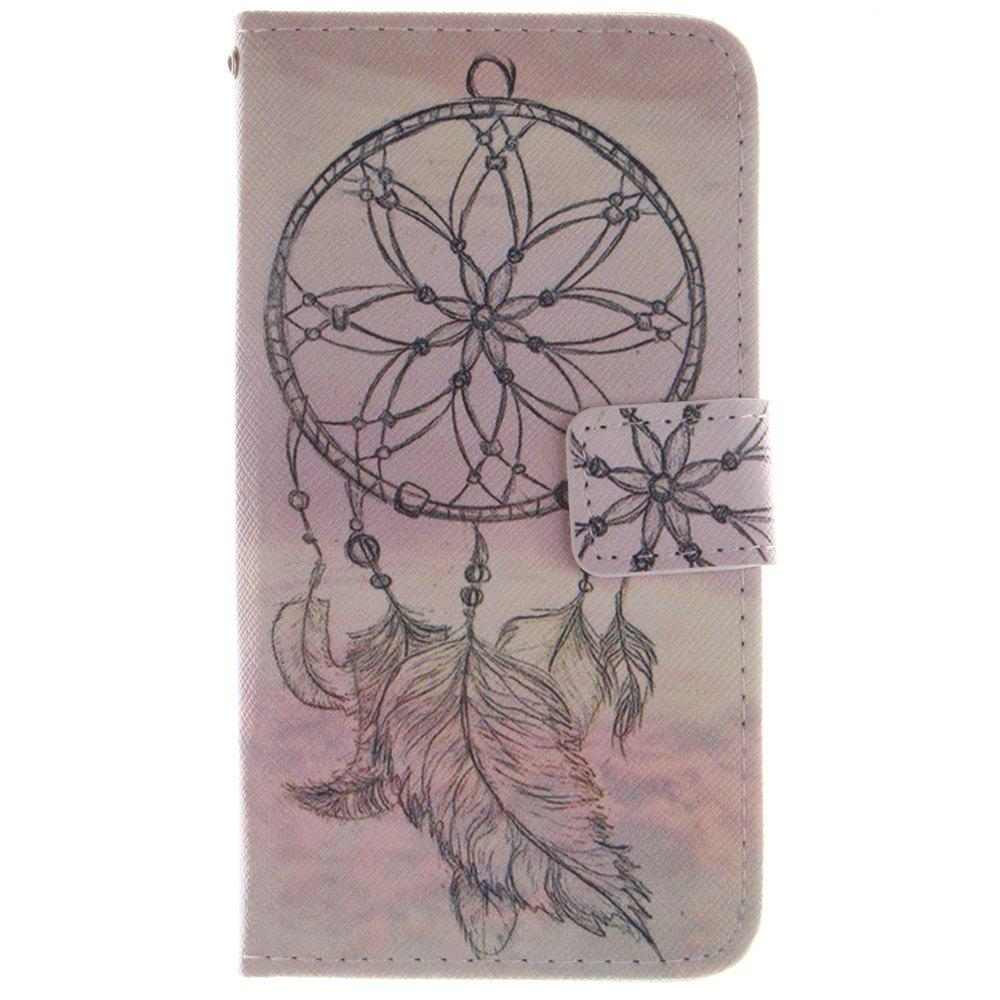Affordable Cover Case For LG G3 Mini Dreamcatcher PU+TPU Leather with Stand and Card Slots Magnetic Closure