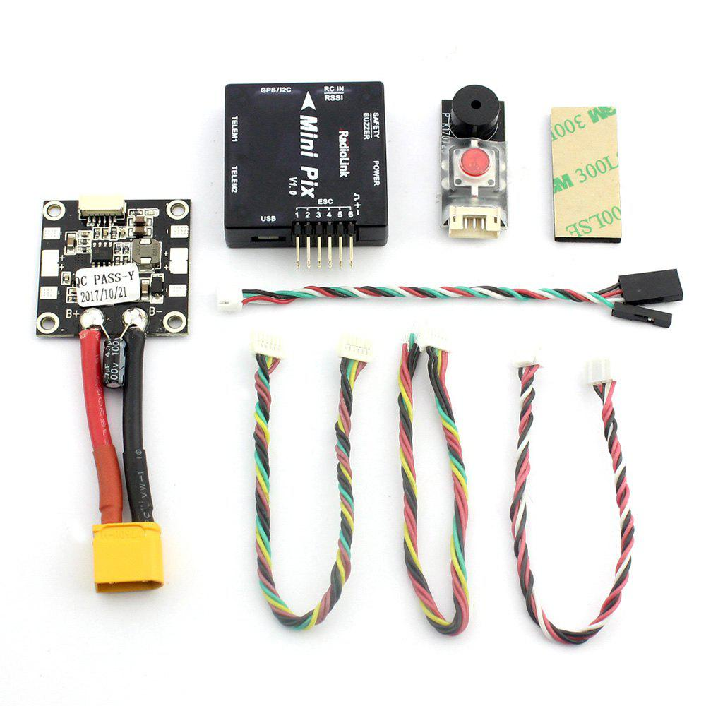 Trendy Radiolink Mini PIX F4 Flight Controller with Compasses Basic Configuration for DIY RC Racer Drone