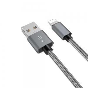20cm Data Sync Fast Charging Cable for iPhone Braided Pattern -