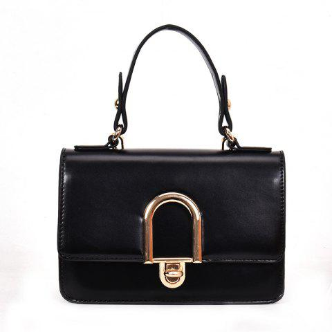 Affordable Contrast Color Messenger Shoulder Bag