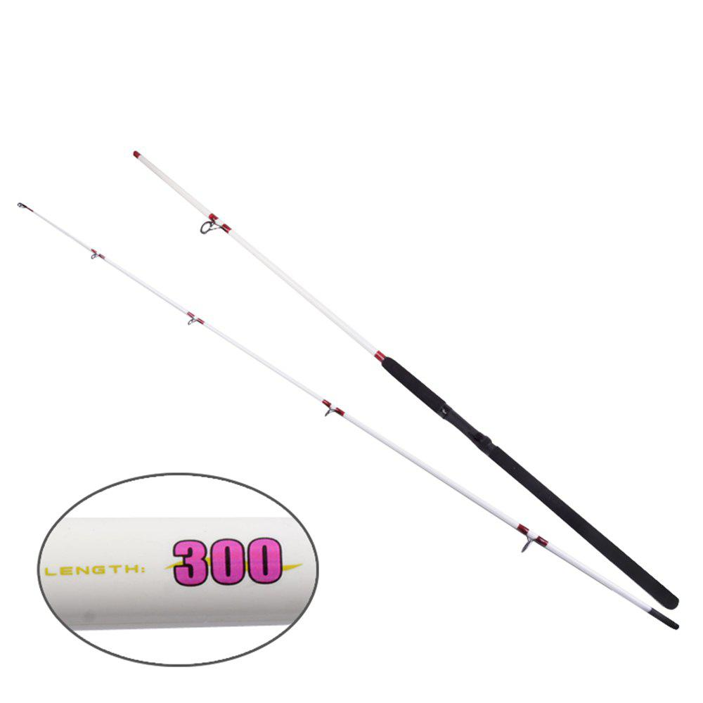 Discount YIYA Plugable Fishing Rod Medium 2.7M / 3.0M White 2 Sections
