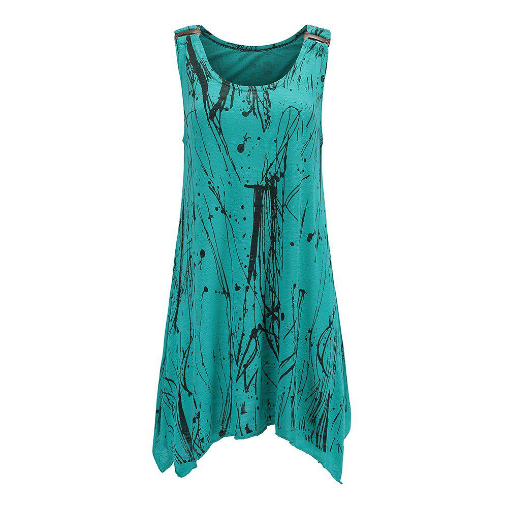 Sale Summer Sexy Women Casual Long Sleeveless Tank Top