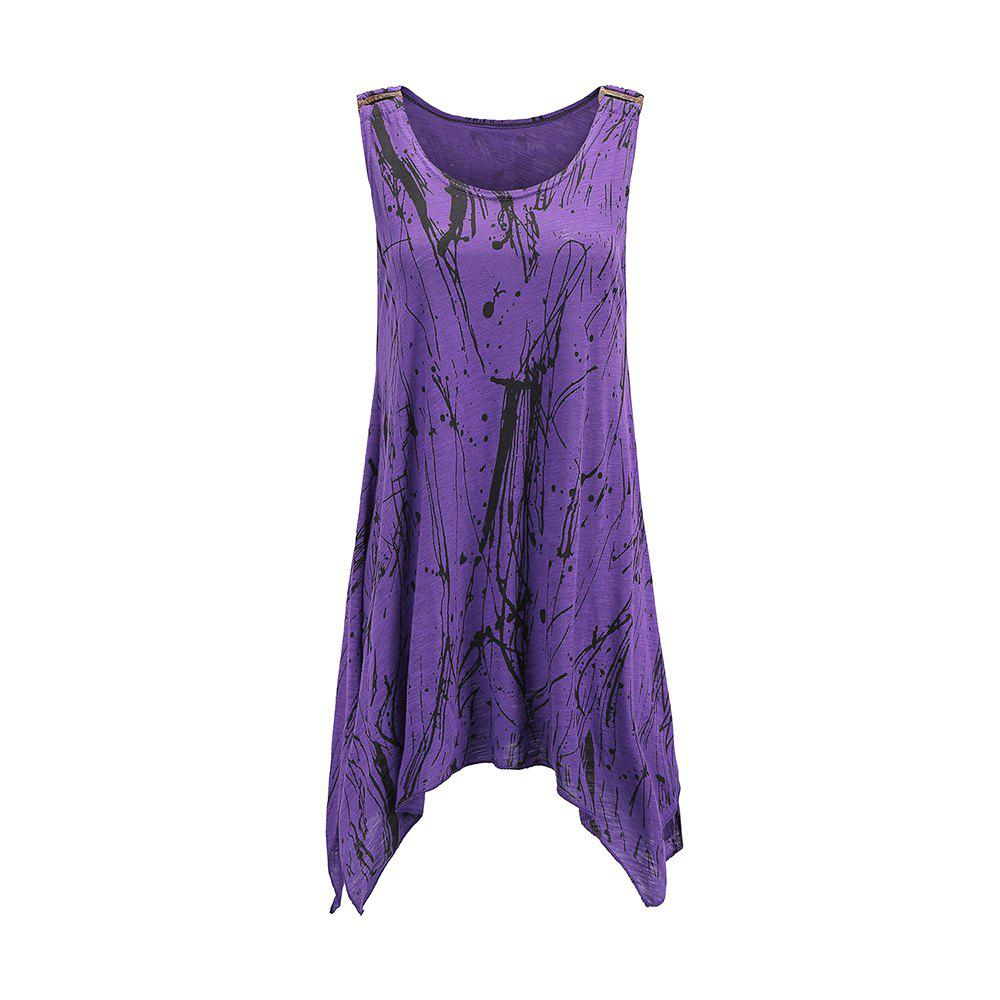 Unique Summer Sexy Women Casual Long Sleeveless Tank Top