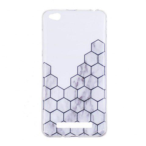 Chic TPU Soft Case for Xiaomi Redmi 4A Cubic Marble Style Back Cover
