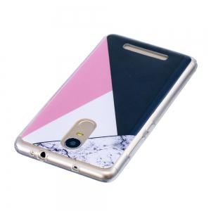 TPU Soft Case for Xiaomi Redmi Note 3 Bab Marble Style Back Cover -