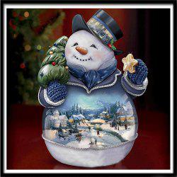 NAIYUE Q1035 Snowman Print Draw 5D Diamond Painting Diamond Embroidery