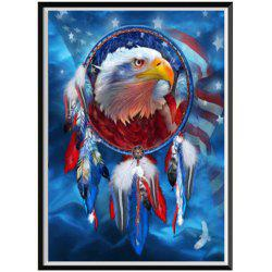 NAIYUE S045 The Dream Catcher - The Eagle Print Draw 5D Diamond Painting Diamond Embroidery