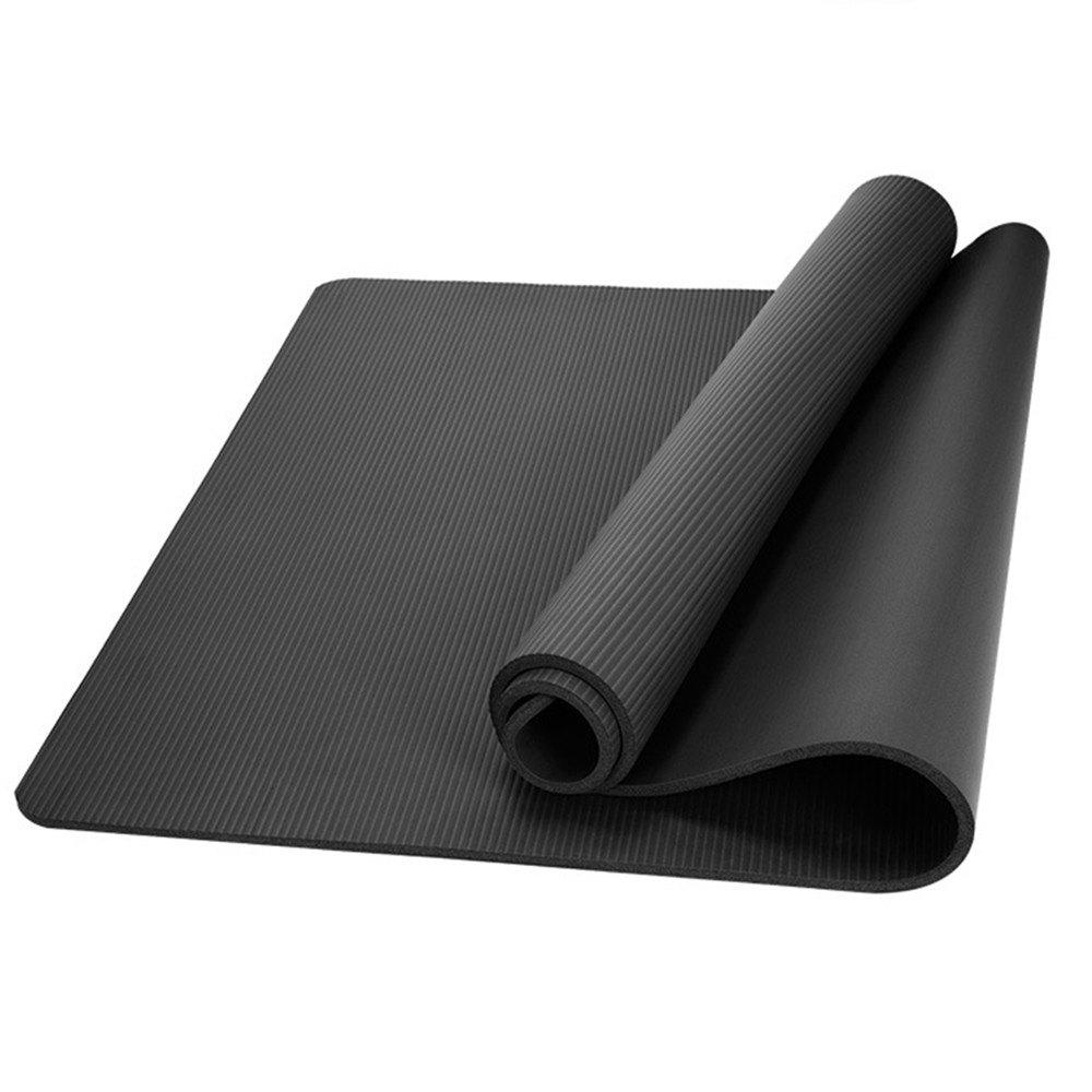 Trendy Health and Fitness Thick 1 Cm Long Comfort Foam Yoga Mat
