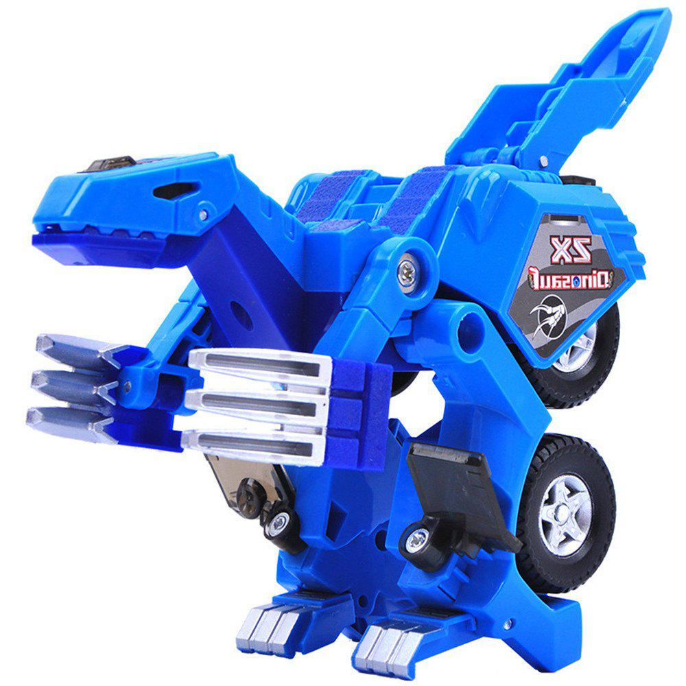 Dinosaur Transformation Plastic Robot Car Model Toy Action Figure with Sound LED light 251927201