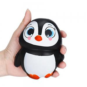 Jumbo Squishy Penguin Kawaii Cute Animal Slow Rising Sweet Scented Vent Charms Kid Toy Doll Gift Fun -