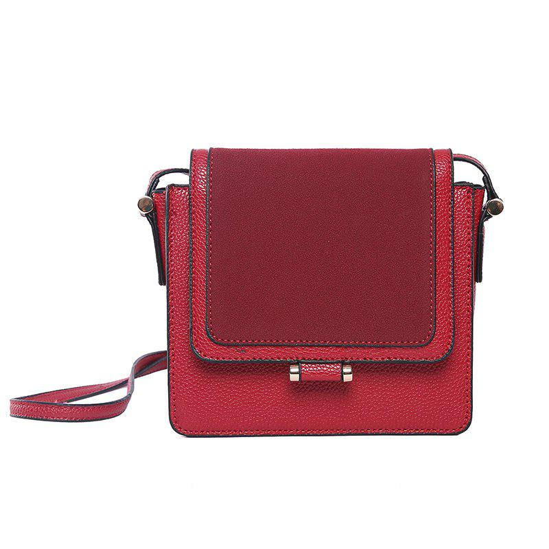 Store Shoulder Messenger Bag Joker Small Bag Splicing Small Square Package