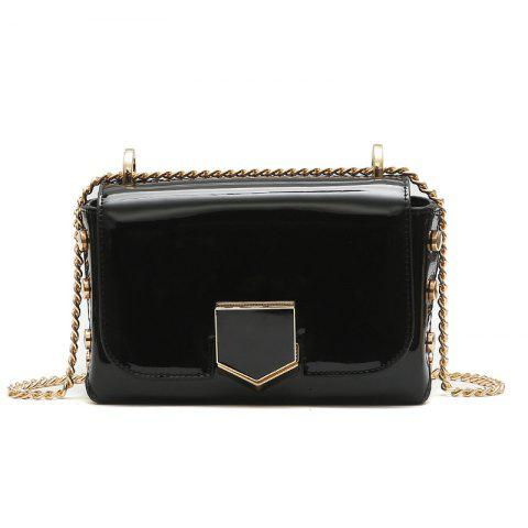Trendy Rivet Buckle Small Square Package Chain Shoulder Bag Handbags Wild Messenger Bag