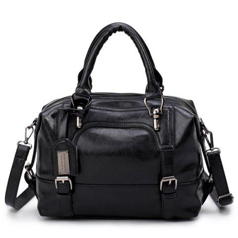 Cheap Oil Wax Leather Shoulder Bag Retro Fashion Hand-Held Large Capacity Soft Leather Messenger Bag