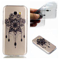 for Samsung A3 2017 Bead Bells Soft Clear TPU Phone Casing Mobile Smartphone Cover Shell Case -