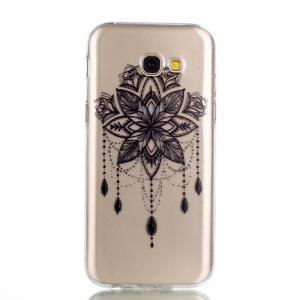 for Samsung A5 2017  Bead Bells Soft Clear TPU Phone Casing Mobile Smartphone Cover Shell Case -