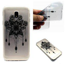 for Samsung J530 Bead Bells Soft Clear TPU Phone Casing Mobile Smartphone Cover Shell Case -