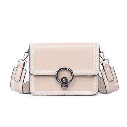 Female Diagonal Wide Strap Wild Girl Small Satchel Bag -