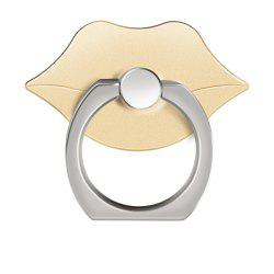 360 Degree Rotating Cute Lip Cell Phone Finger Ring Holder Stand -
