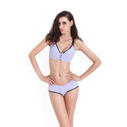 Pregnant Women Underwear Cotton Bra Underwear Without Steel Ring Suit -