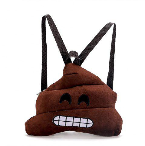 Affordable Stool Expression Plush Toy Bag