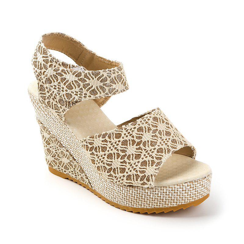 Discount Muffin Thick Bottom Toe Sandal