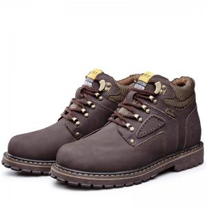 Outdoor Stylish Comfortable Durable Leather Jobon Boots -