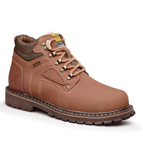 Trendy Warm and Comfortable Outdoor Wear Leather Jobon Boots