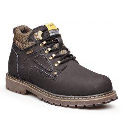 Warm and Comfortable Outdoor Wear Leather Jobon Boots -