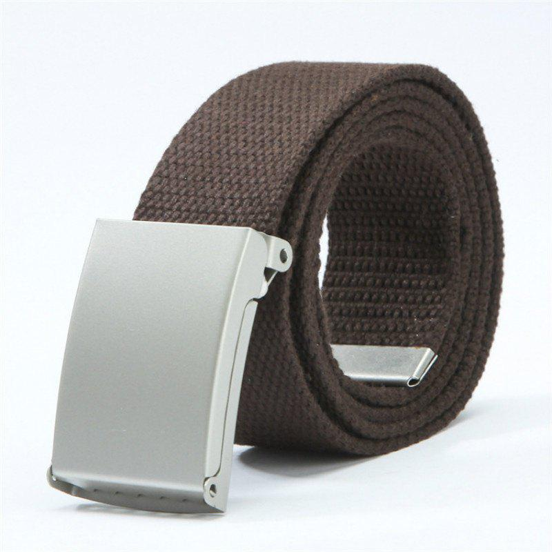Best Candy Fashion New Unisex Mens Belt Belt Canvas Belt