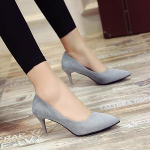 Sanding Pure Color Sharp Heels -