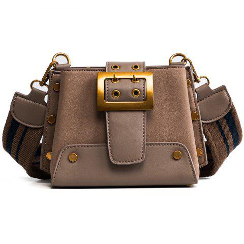 Fancy New Female Frosted Ladder Wide Straps Satchel All-Match Fashion Bags