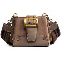 New Female Frosted Ladder Wide Straps Satchel All-Match Fashion Bags -