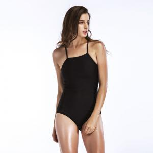 Women's Sexy Cross Swimsuits One Piece Retro Back Swimsuit -