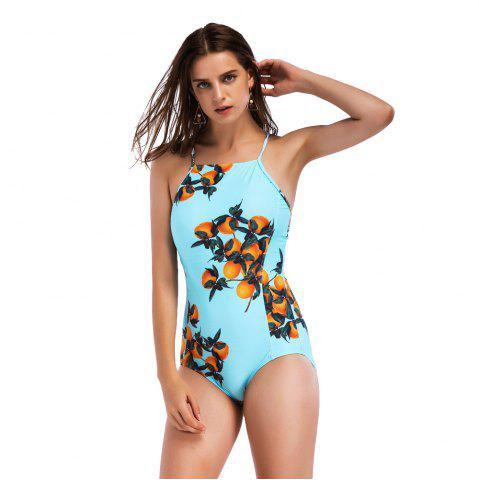 Outfits Women's Sexy Cross Swimsuits One Piece Retro Back Swimsuit