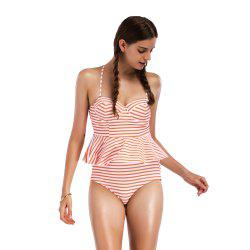 Women's Stripe Fission Swimwear Bikini Set -