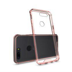 Cover Case for One Plus 5T Luxury Shockproof Hybrid Armor Crystal Hard PC Back Full Protection Coque Fundas -