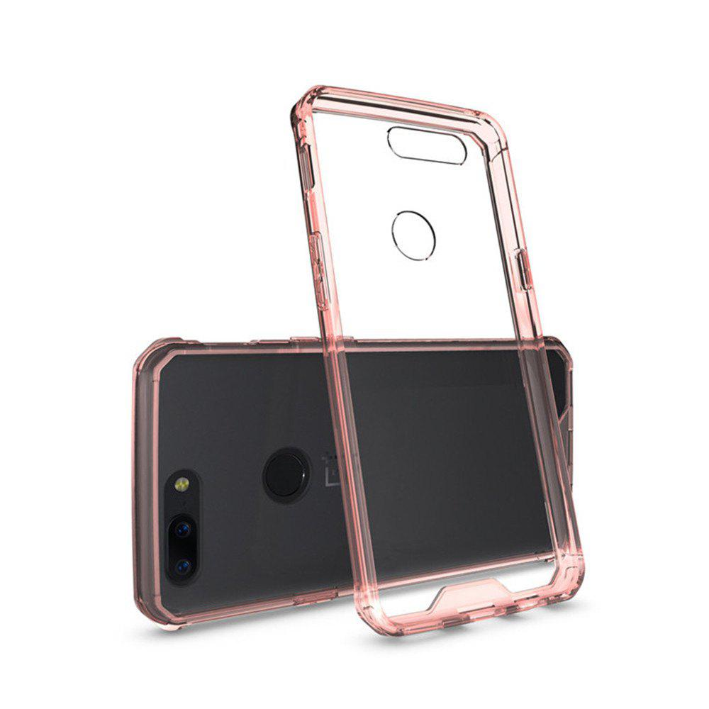 Fashion Cover Case for One Plus 5T Luxury Shockproof Hybrid Armor Crystal Hard PC Back Full Protection Coque Fundas