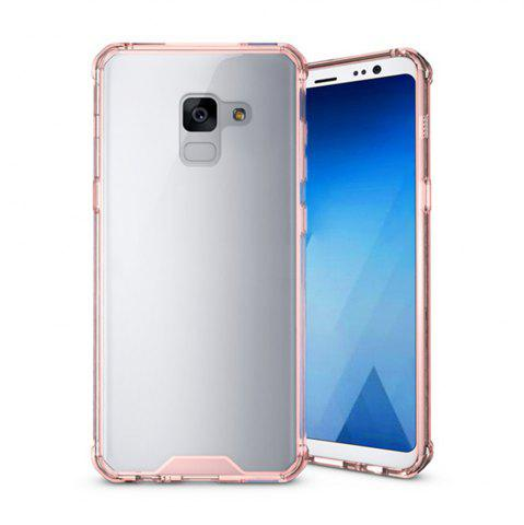 Unique Cover Case for A5 2018 / A8 2018 Luxury Shockproof Hybrid Armor Crystal Hard PC Back Full Protection Coque Fundas