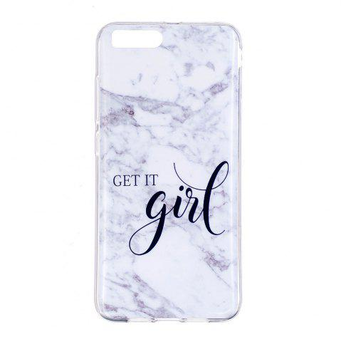 Shop TPU Soft Case for Xiaomi Mi 6 Girl Marble Style Back Cover
