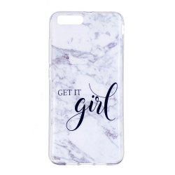 TPU Soft Case for Xiaomi Mi 6 Girl Marble Style Back Cover -