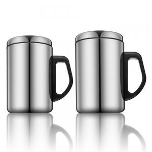 350ML/500ML Non-Magnetic Stainless Steel Insulated Thermal Tea Water Thermo Mug Double Layers Readily Insulated Thermo-C -