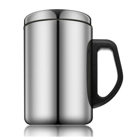 Hot 350ML/500ML Non-Magnetic Stainless Steel Insulated Thermal Tea Water Thermo Mug Double Layers Readily Insulated Thermo-C