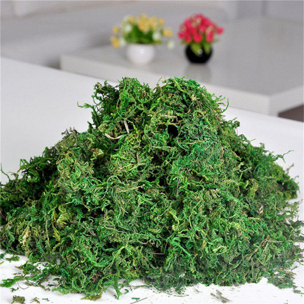 Online Hot Flores Artificial Dried Reindeer Moss for Flowers Grass Basket Home Garden Plants Garland Wedding Party New DIY Deco